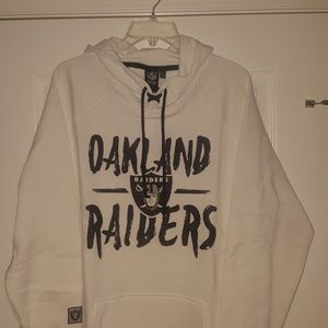 Oakland Raiders Womens Hoodie Size XL
